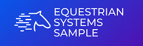 Equestrian Systems Sample System Logo